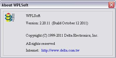 WPLSoft – Delta Industrial Automation