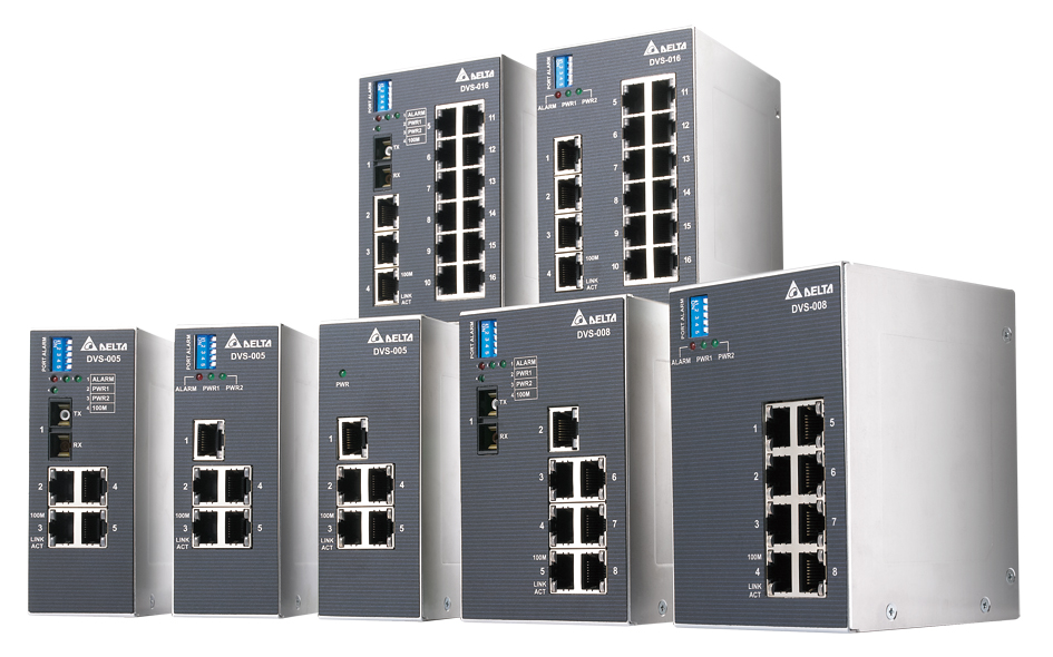 Industrial Ethernet – Delta Industrial Automation
